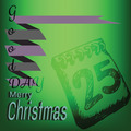 Merry Christmas Gift Box Doodles Label - PhotoDune Item for Sale