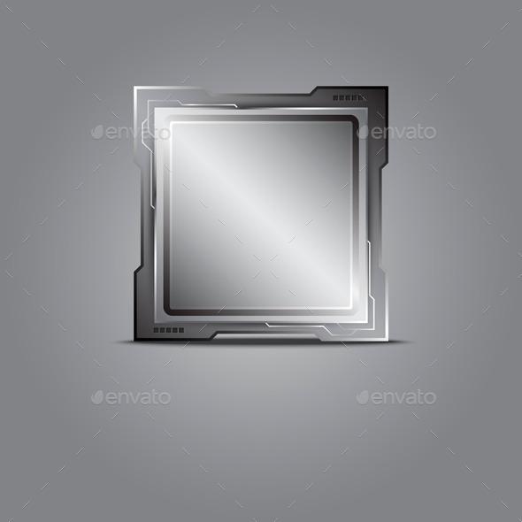 GraphicRiver Metallic Microchip 9645192