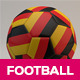 3D Football Cinema 4D Model