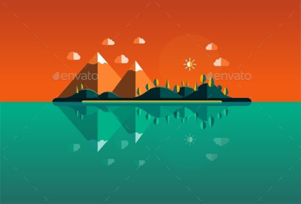 GraphicRiver Landscape 9645628