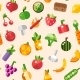 Fruits and Vegetables - GraphicRiver Item for Sale