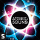 Atomic Sound Flyer - GraphicRiver Item for Sale