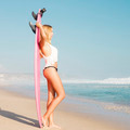 Blode surfer Girl - PhotoDune Item for Sale