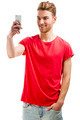 Young man taking a selfie - PhotoDune Item for Sale