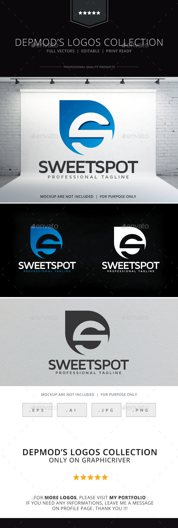 GraphicRiver Sweet Spot Logo 9646724
