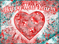 Vintage Colorful Happy New Year Design - PhotoDune Item for Sale
