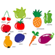 Fruit and Vegetable Set - GraphicRiver Item for Sale