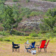 Camping site with camp-chairs and table - PhotoDune Item for Sale