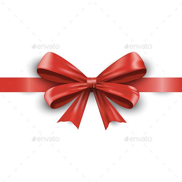 GraphicRiver Red Ribbon 9647093