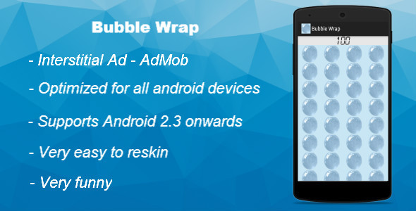 CodeCanyon Bubble Wrap With AdMob 9572009