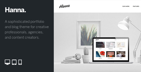 ThemeForest Hanna An Immersive WordPress Portfolio & Blog 9383533