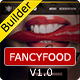 FancyFood - Responsive Email Template With Builder - ThemeForest Item for Sale