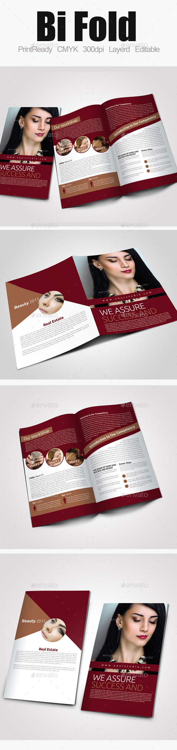 GraphicRiver Bi Fold Business Brochure 9595558