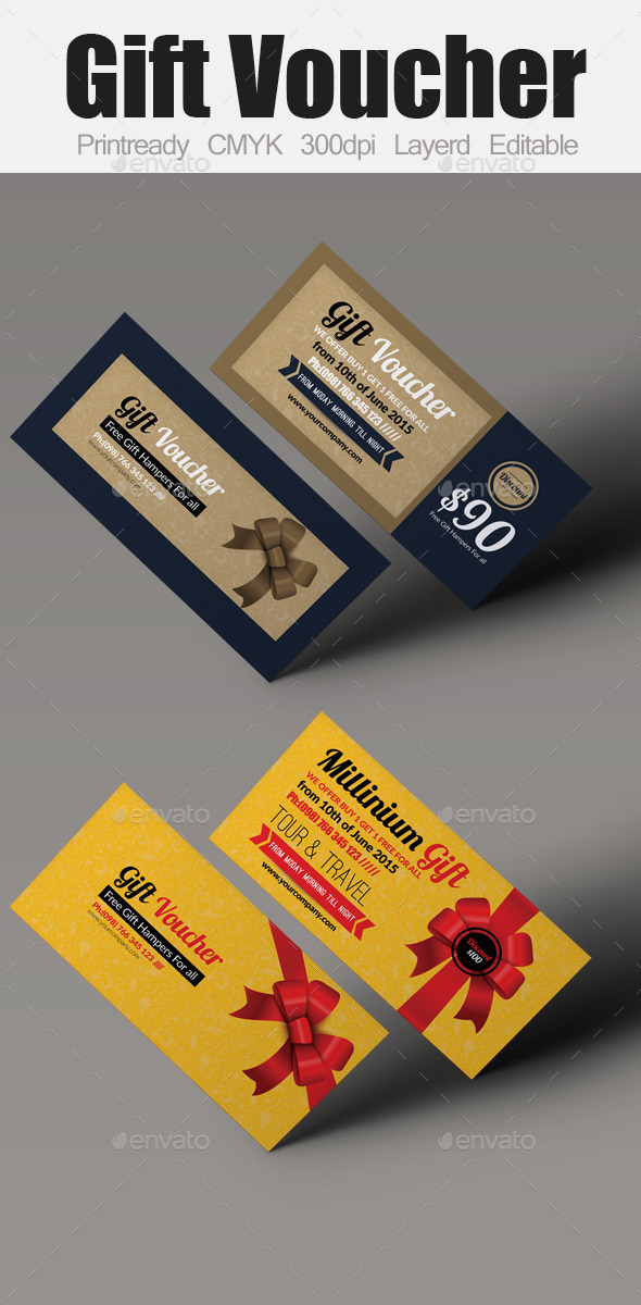 Multi Use Business Gift Voucher Bundle