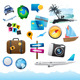 Travel & Holiday Elements. - GraphicRiver Item for Sale