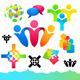 Social People Icons and Elements - GraphicRiver Item for Sale