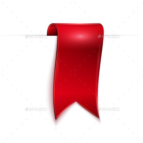 GraphicRiver Red Ribbon 9649154