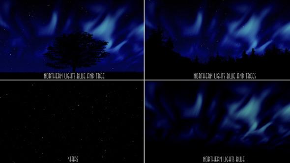 Northern Lights Blue