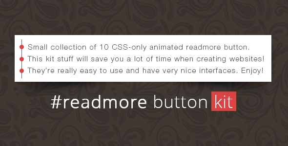 #readmore Button Kit - CodeCanyon Item for Sale
