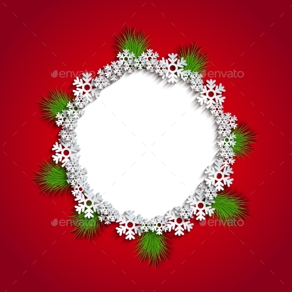 GraphicRiver Modern Christmas Background 9649502