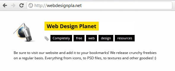 WebDesignPlanet