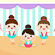 Little Girls in a Ballet Performance - GraphicRiver Item for Sale
