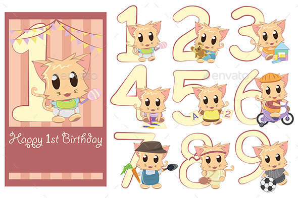 GraphicRiver Kids Birthday Template 9649867