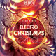 Electro Christmas Carol Party Flyer - GraphicRiver Item for Sale