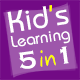 01Smile Kids Learning Games Collection 1 (5 in 1)