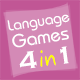 01Smile Language Learning Games Collection 1 (4 in 1)