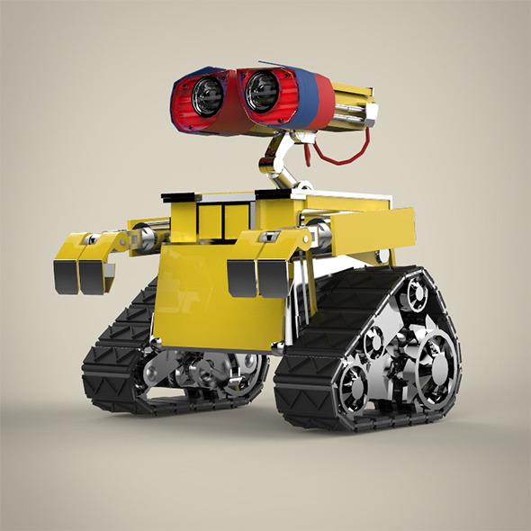 3DOcean Robot 9652269