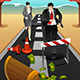 Business People Running on the Road  - GraphicRiver Item for Sale