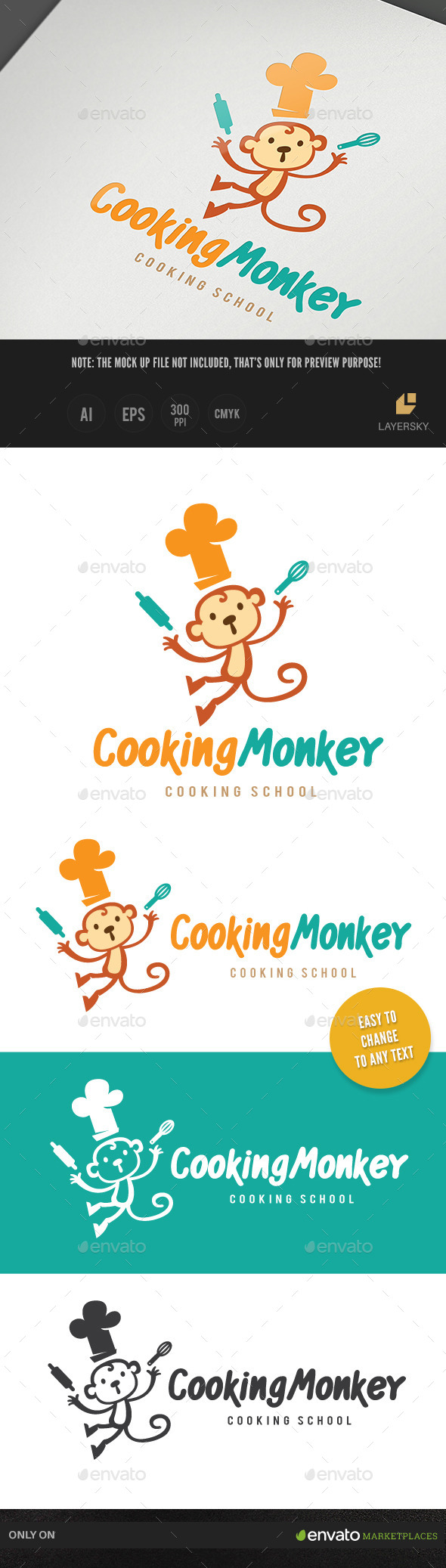 Cooking Monkey