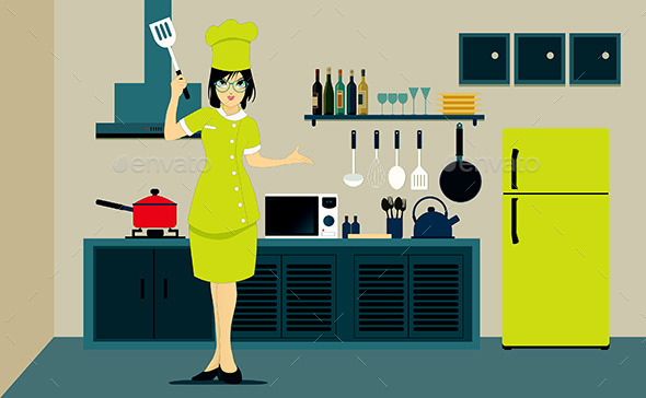 GraphicRiver Kitchen 9652591