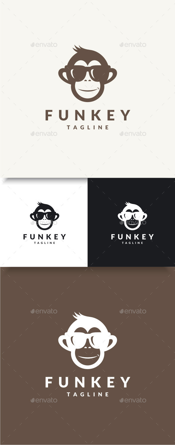 GraphicRiver Funky Monkey Logo 9652941