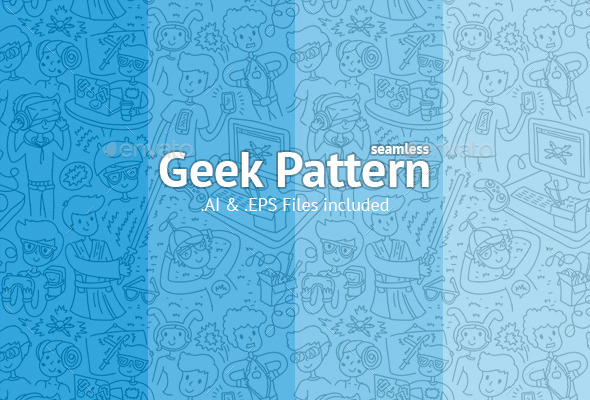 GraphicRiver Geek Pattern 9652960