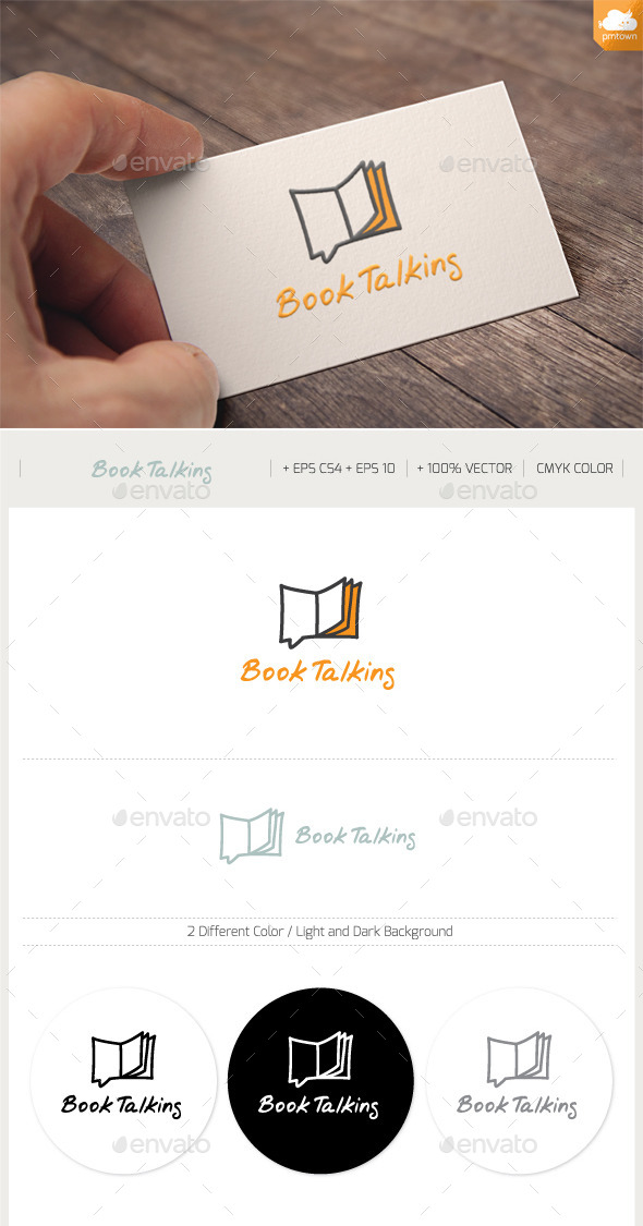 GraphicRiver Book Talking 9652998