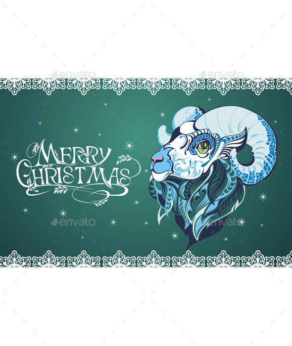 GraphicRiver Christmas Background 9653033