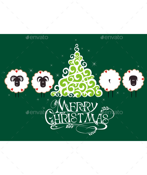 GraphicRiver Merry Christmas Card 9653078