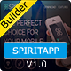 SPIRITAPP - Responsive Email Template With Builder - ThemeForest Item for Sale