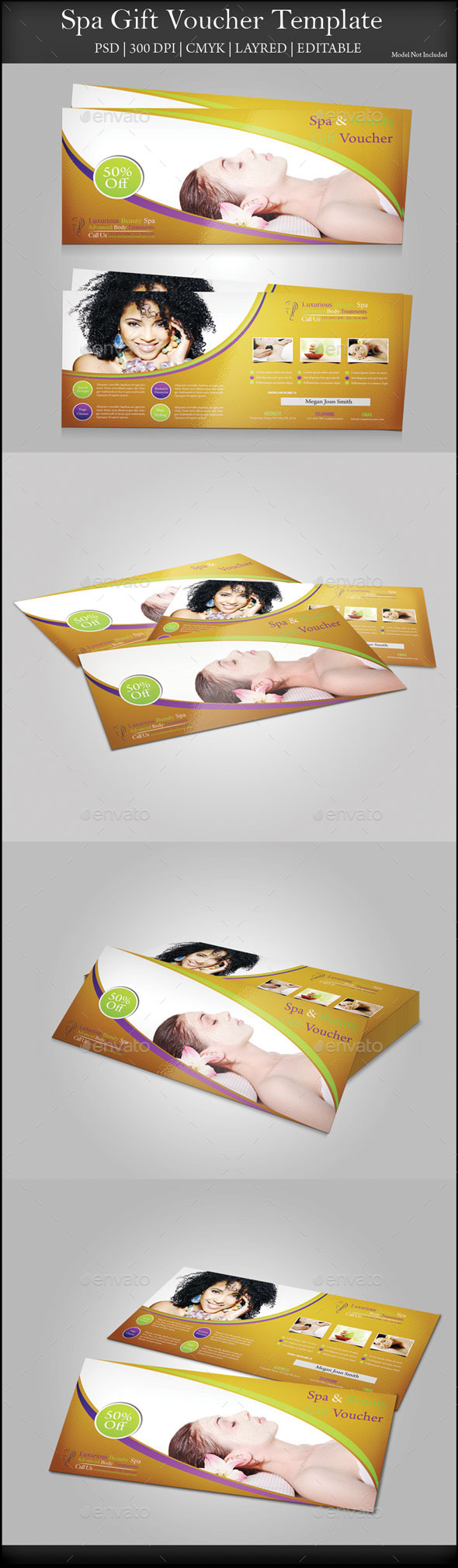 GraphicRiver Spa Gift Voucher 9654906