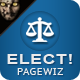 Elect! - Premium Pagewiz Landing Page - ThemeForest Item for Sale