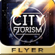 Futurism City Flyer Design - GraphicRiver Item for Sale