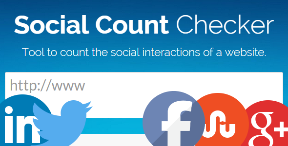 CodeCanyon Social Count Checker 9655565