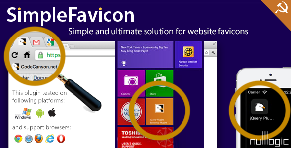 CodeCanyon SimpleFavicon 9655701