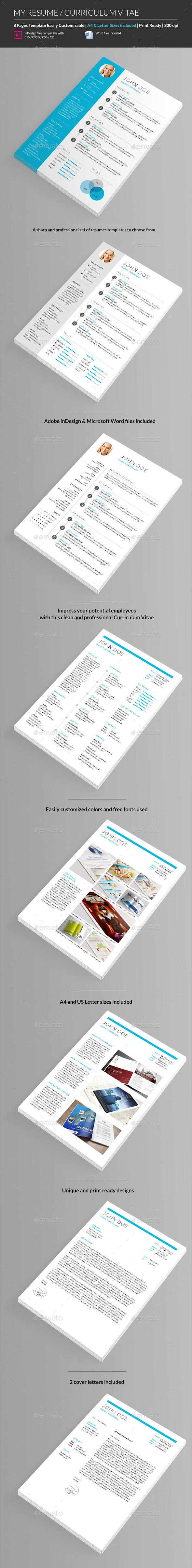 GraphicRiver My Resume CV 9655740