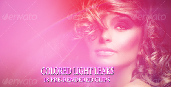 VideoHive Colored Light Leaks 9655760