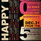 New Year Flyer Template V3 - GraphicRiver Item for Sale
