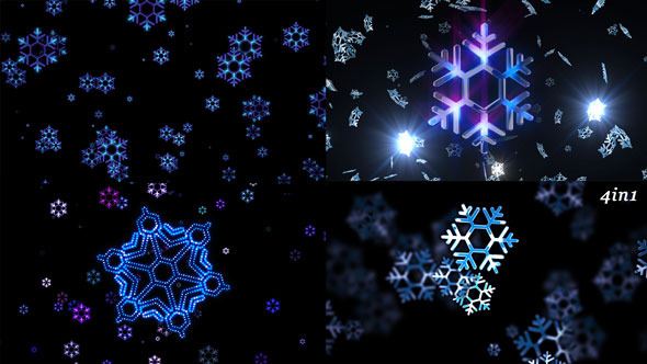 VideoHive New Year Snow 9656317