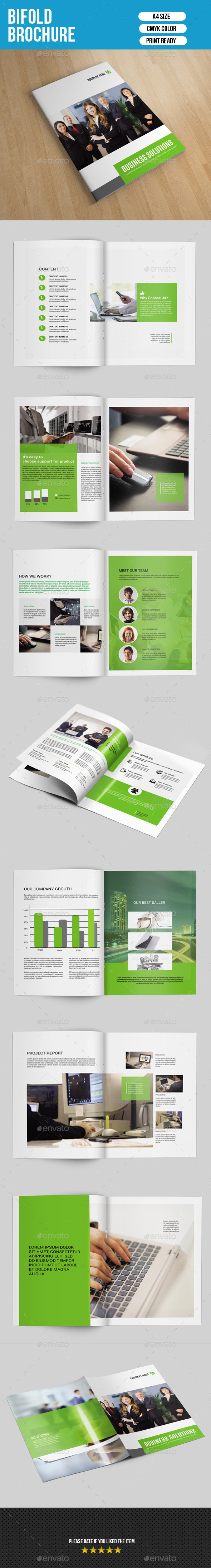 GraphicRiver Corporate Bifold Brochure-V167 9656500